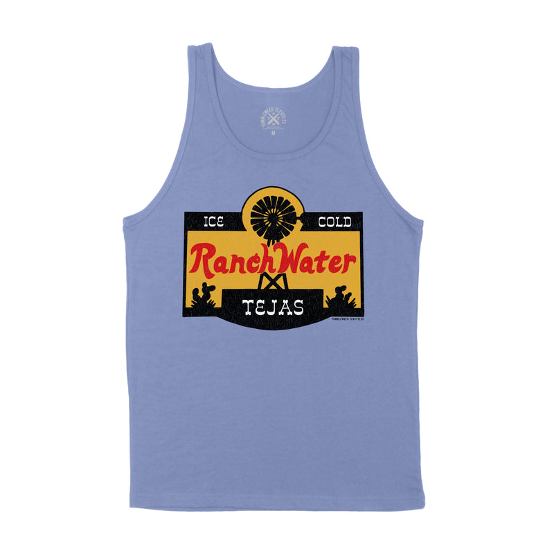 Ranch Water Label Men's Tank