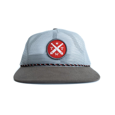 TWT Logo Full Mesh Rope Hat