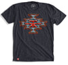 Native TX Diamond T-Shirt - Navy