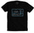 "95.3 KHYI ""The Range"" Landscape T-shirt (Black)"