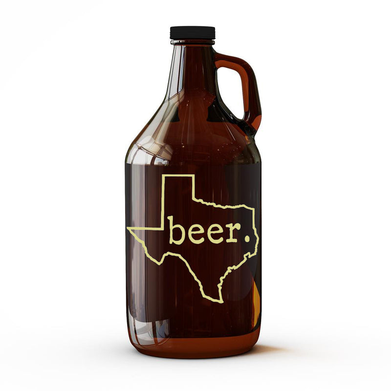 Beer. Texas - 64 oz Growler