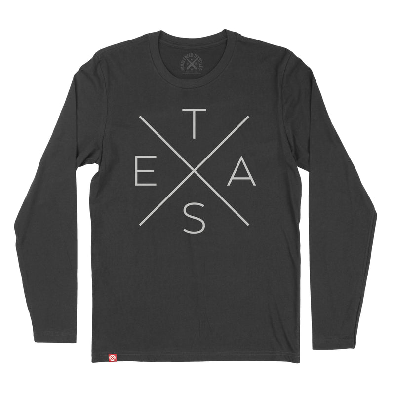Big X Long Sleeve T-Shirt - Tumbleweed TexStyles