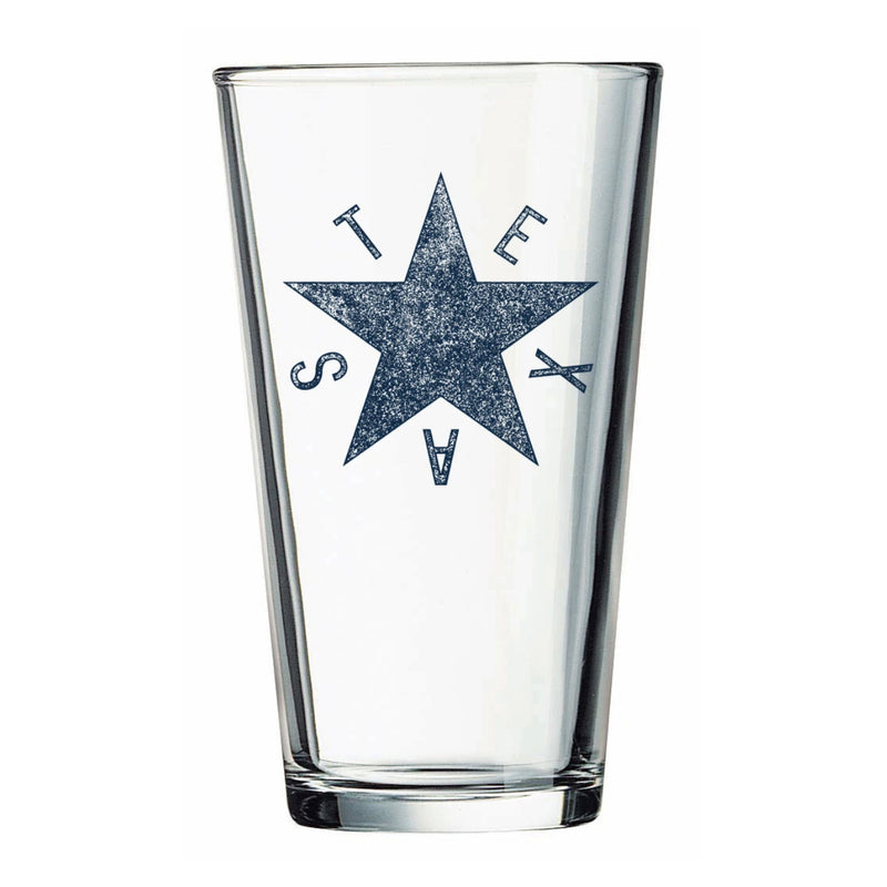 DeZavala Star - Pint Glass