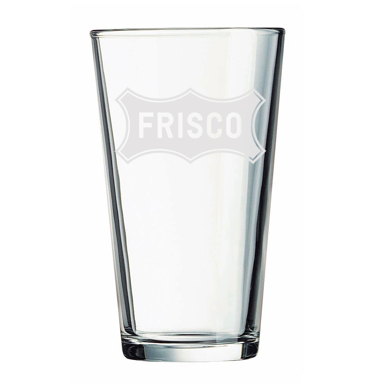 Frisco - Pint Glass (White)