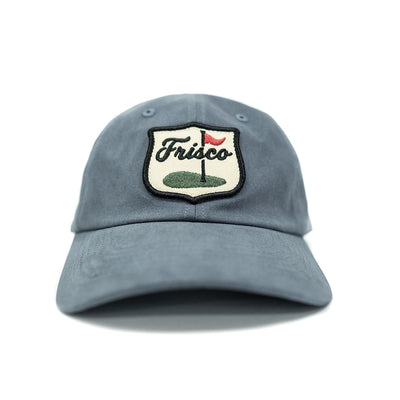 Frisco Golf Patch Dad Hat (Steel Blue)