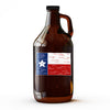 Texas Flag - 64 oz Growler - Tumbleweed TexStyles