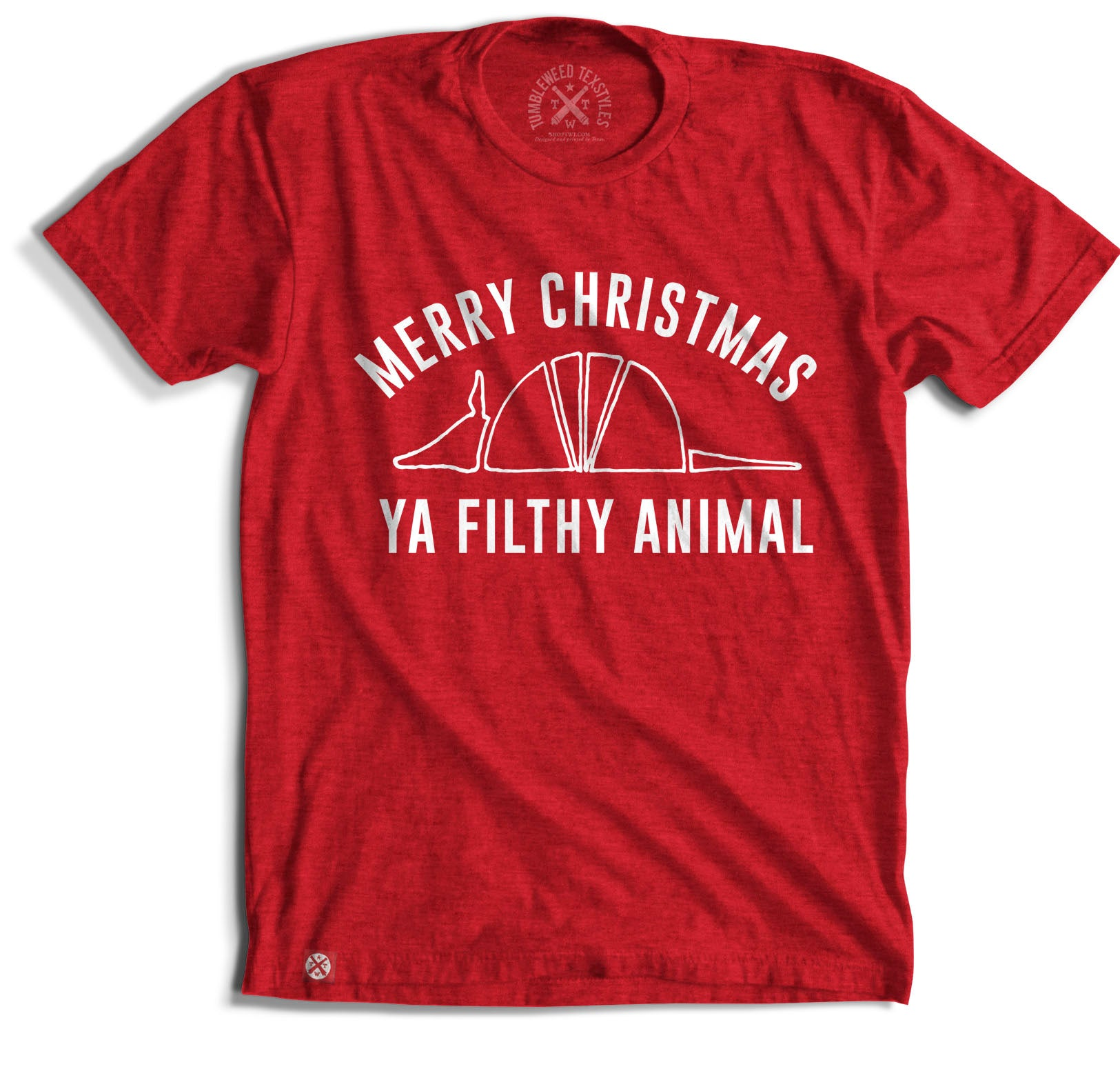 Merry Christmas You Filthy Animal T-shirt