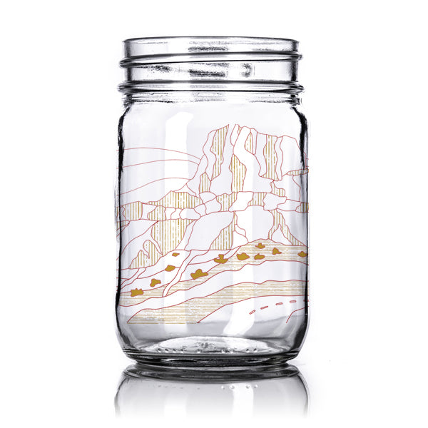 Drift & Explore - Mason Jar (16 oz)