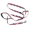 Texas Flag Leash - 4 ft Medium