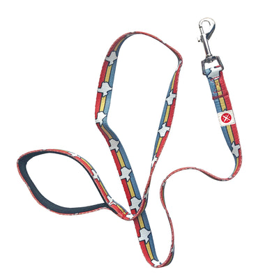 Texas Stripes Leash 6 ft Large