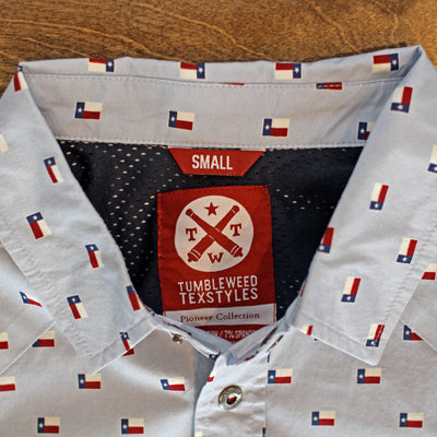 Texas Flag - El Capitan Snap Shirt