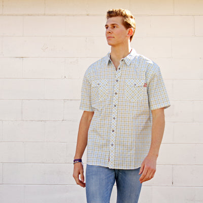 Plaid - El Capitan Snap Shirt (Blue / Green)