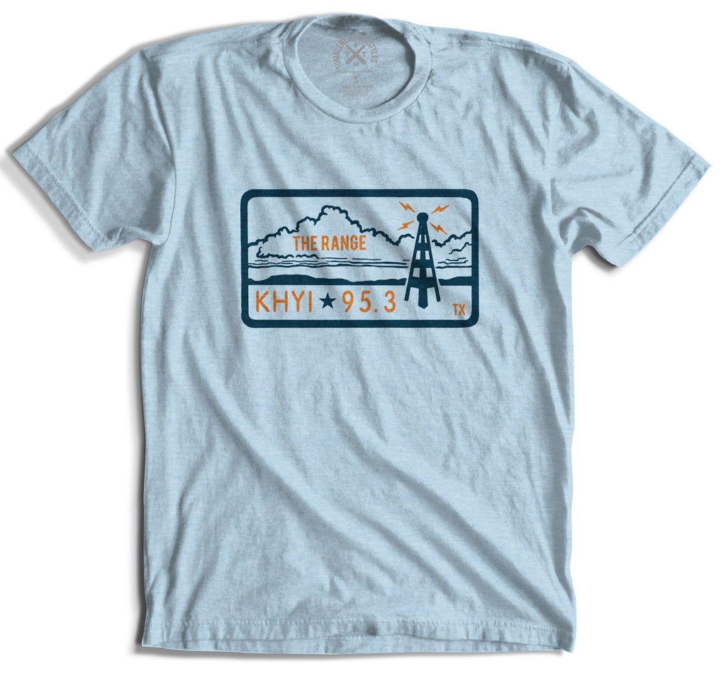 "95.3 KHYI ""The Range"" Landscape T-shirt"
