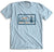 "95.3 KHYI ""The Range"" Landscape T-shirt (Light Blue)"