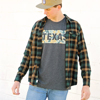 Texas Camo Patch T-Shirt