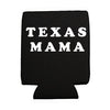 Texas Mama Koozie - Black