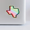Tik Tex Holographic Sticker