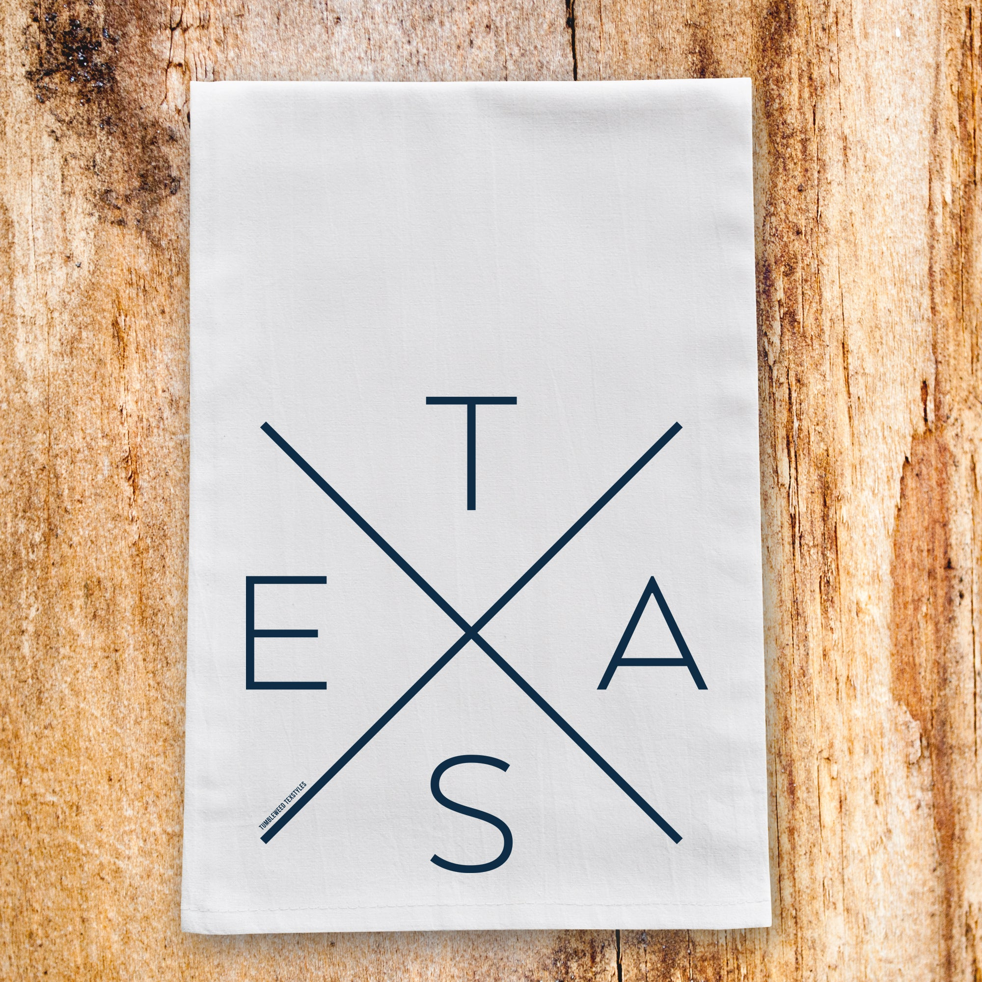 Big X Tea Towel - Tumbleweed TexStyles