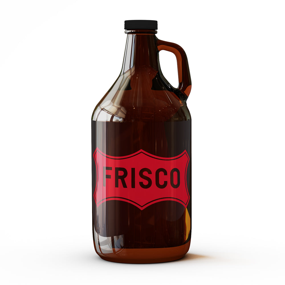 Frisco Logo  - 64 oz Growler