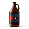 Stars and Stripes - 64 oz Growler