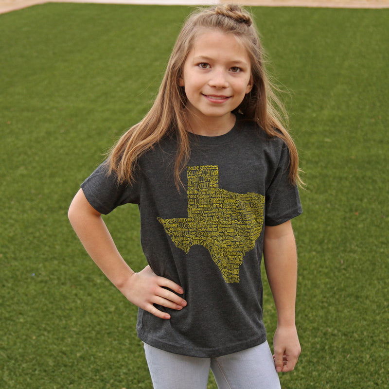 Texas Towns T-Shirt (Youth)