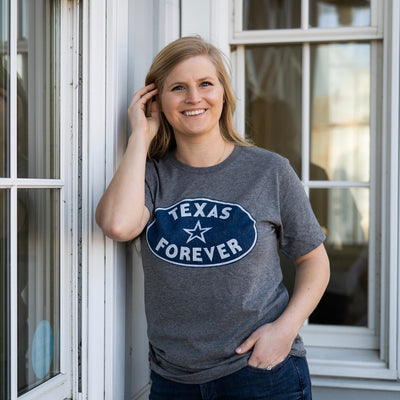 Texas Forever Oval T-Shirt