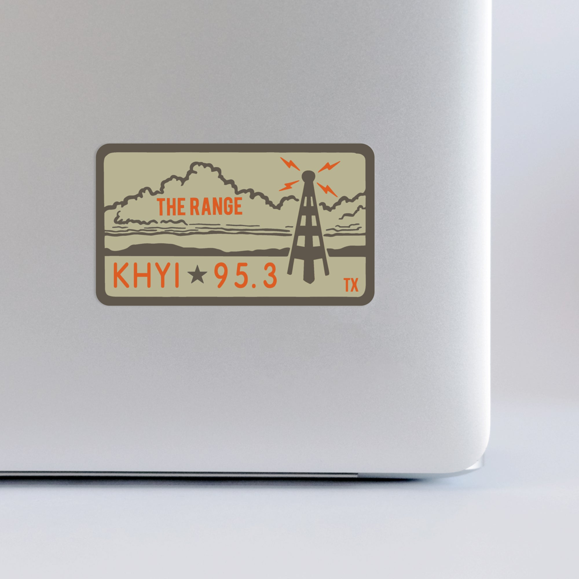 "95.3 KHYI ""The Range"" Landscape Sticker"