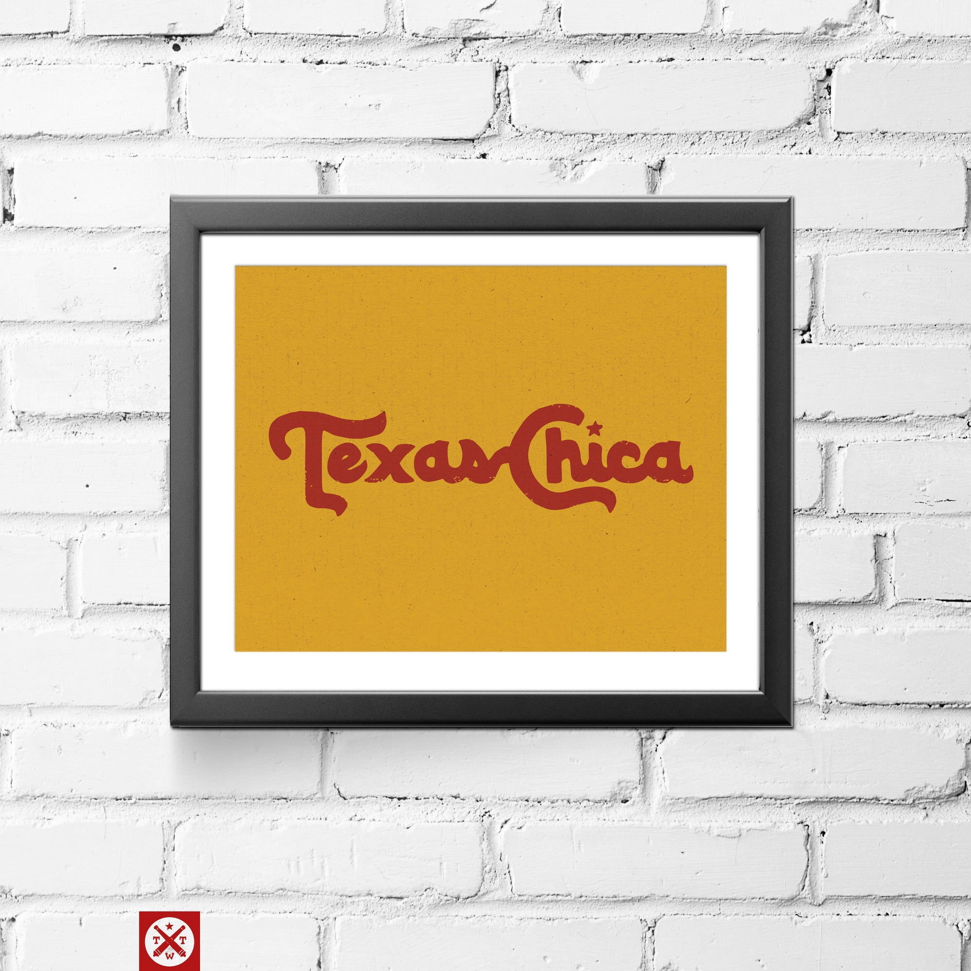 Texas Chica Wall Art Decor by Tumbleweed TexStyles