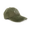 Big X Texas - Washed Cotton Twill Hat (Cactus Green) - Tumbleweed TexStyles