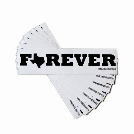 Forever Texas Bumper Sticker