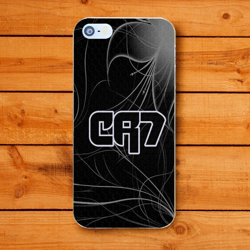 CR7 CRISTIANO RONALDO stile 2 Cover Custodia per Apple iPhone 6 7 8 PLUS X  XR XS MAX