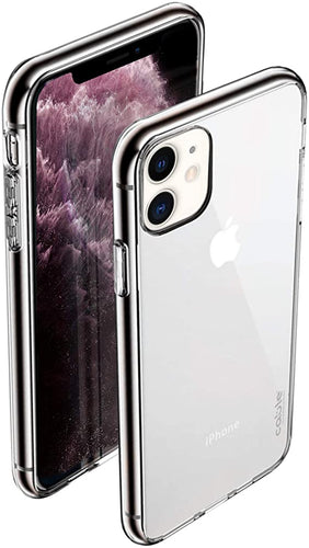 iSee clear for iPhone 11 Pro cover case custodia trasparente morbido  silicone
