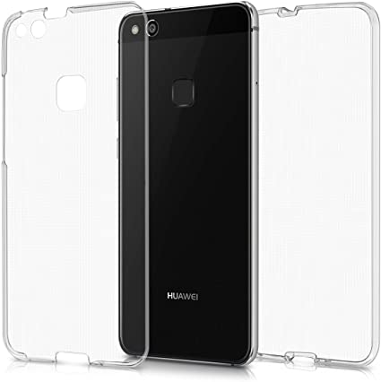 Custodia per HUAWEI P10/MATE 10 Cover Fronte Retro 360° Full Body Touch  Silicone