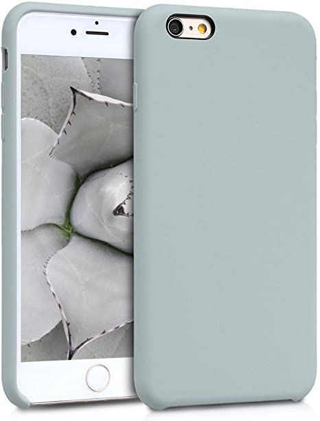 APPLE - IPHONE 6 S PLUS - COVER CUSTODIA IN PELLE - GRIGIO CHIARO