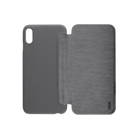 ARTWIZZ - Flip Cover Custodia per iPhone X Colore Titanio - ePRICE