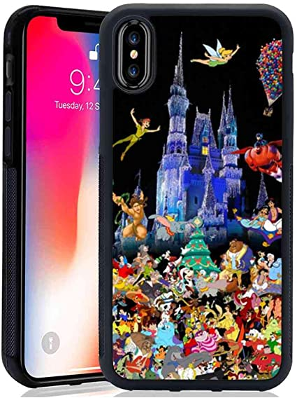 Amazon.com: Disney Castle iPhone X custodia