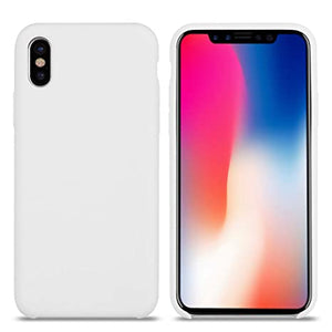 Apple Custodia Cover Originale In Silicone Per Iphone X - Bianco