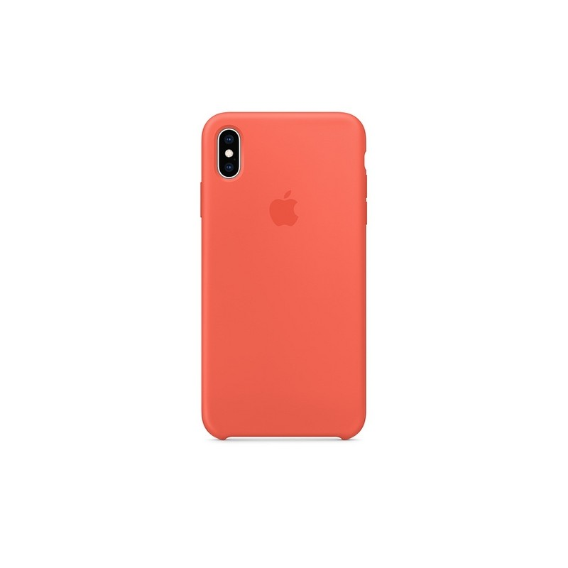 Apple IPhone XS Max Silicone Custodia Nectarine Mtff2zm A Custodia