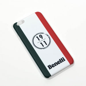 "Benelli Moto Shop online Cover iPhone ""Full Logo"" white Benelli"