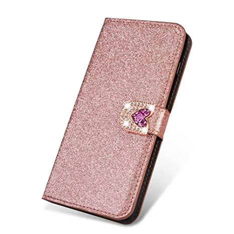 Bling Card Slot custodia For iPhone 7 8 X