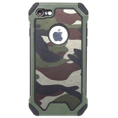COVER Mimetica Bianco Nero Nera Camouflage Apple iPhone 4 5 6 Plus