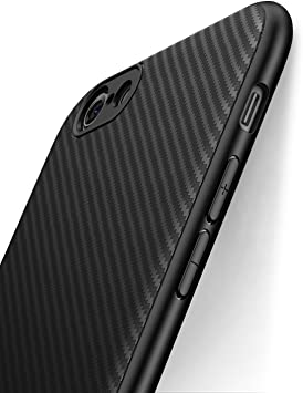 CUSTODIA COVER MOTO Carbon Effetto Carbonio per Apple Iphone 6s 7