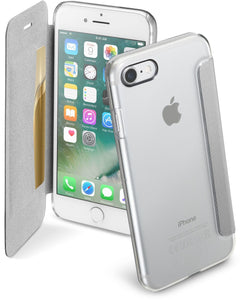 Cellularline Clear Book - iPhone 7 Custodia a libro rigida con - cifnet