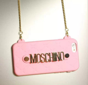 Cigarette Burn Bianco Cover Moschino iPhone 6/6 Plus Sito
