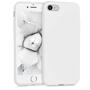 Cover Anti-Shock per Apple iPhone 7 iPhone 8 in silicone TPU Bianco