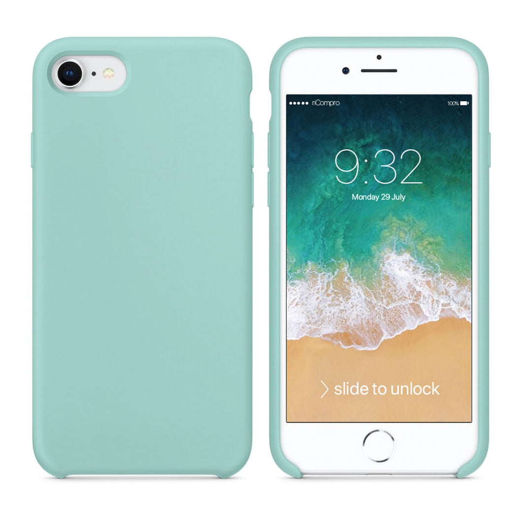 Cover Nera per iPhone 7 e iPhone 8 di Silicone  riCompro