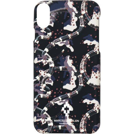 Cover marcelo burlon x iphone vicoli-romani bianco - Stileo.it