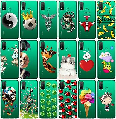 CUSTODIA COVER MORBIDA TRASPARENTE IN TPU PER HUAWEI P SMART PLUS FANTASIA  T5
