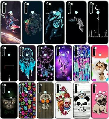 Custodia cover back case in tpu morbida per XIAOMI REDMI NOTE 8T fantasia C