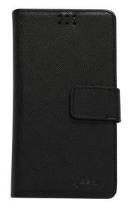 "Custodia a Libro per Smartphone 4.7"" - 5.3"" Nero - Custodie iPhone"